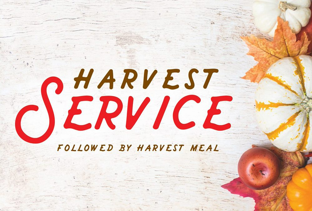 Harvest Service (and Meal)